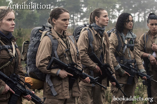 Annihilation 2018 film review | Book Addicts