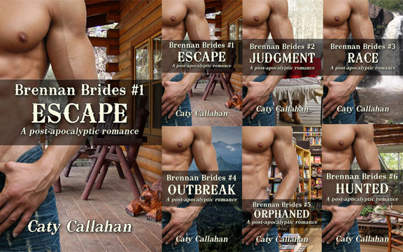 Brennan Brides 1 Escape by Caty Callahan book review | Book Addicts