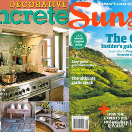 Decorative Concrete by Sunset Magazine book review | Book Addicts