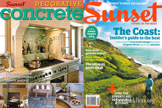 Decorative Concrete by Sunset Magazine