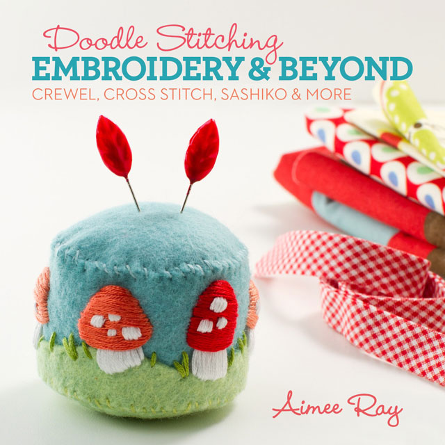 Doodle Stitching: Embroidery and Beyond by Aimee Ray book review | Book Addicts