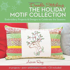 Doodle Stitching the Holiday Motif Collection by Aimee Ray book review | Book Addicts