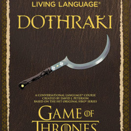 Dothraki the Language Based on Game of Thrones by David Peterson book review | Book Addicts