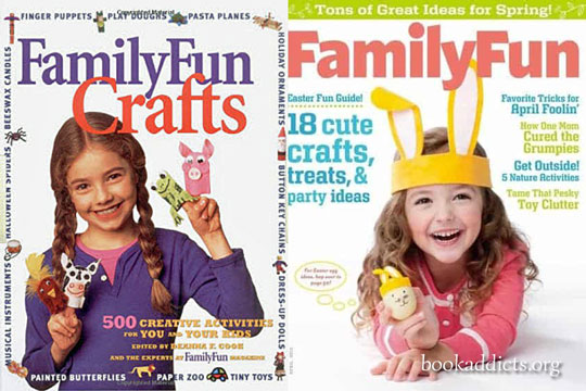 Family Fun Crafts by Family Fun Magazine book review | Book Addicts