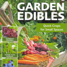 Fast Fresh Garden Edibles by Jane Courtier book review | Book Addicts