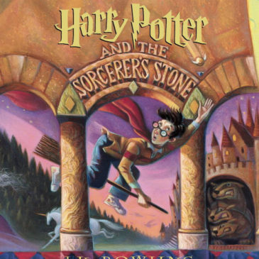 Harry Potter audio CDs