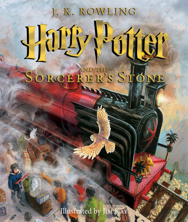 Harry Potter and the Sorcerer's Stone Illustrated Edition book review | Book Addicts