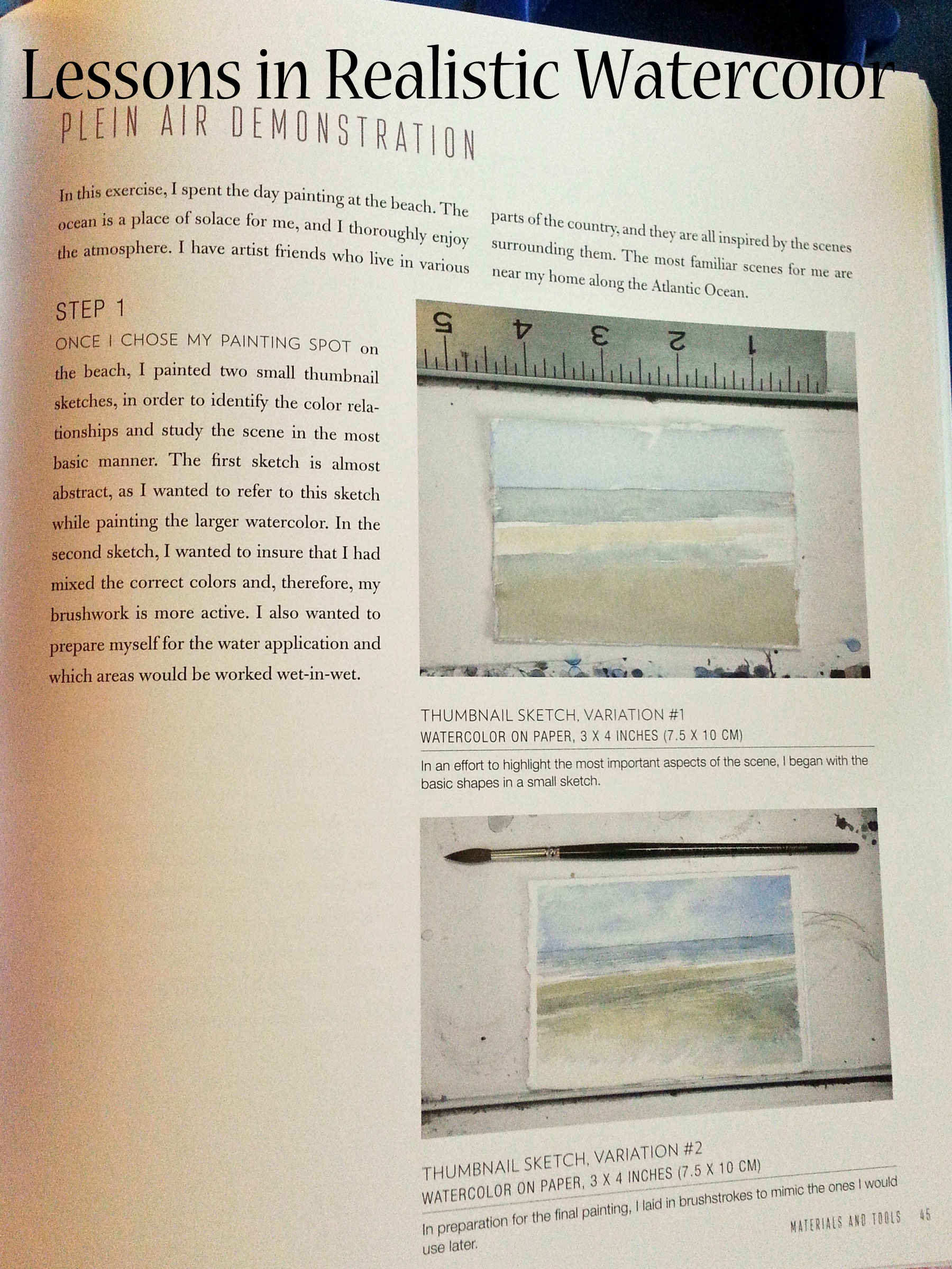 Lessons in Realistic Watercolor by Mario Robinson book review   Book Addicts