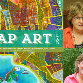 Map Art Lab by Jill Berry and Linden McNeilly book review | Book Addicts