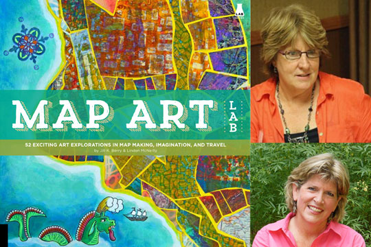 Map Art Lab by Jill Berry and Linden McNeilly