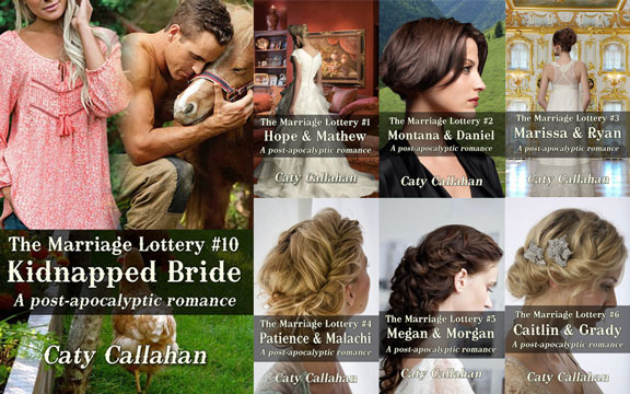 Marriage Lottery #10 Kidnapped Bride by Caty Callahan