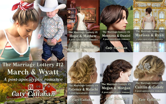 Marriage Lottery 12 March and Wyatt at BookAddicts.org