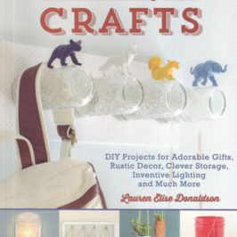Mason Jar Crafts by Lauren Elise Donaldson Book Review | BookAddicts.org