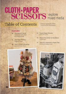 Cloth Paper Scissors Magazine review | Book Addicts