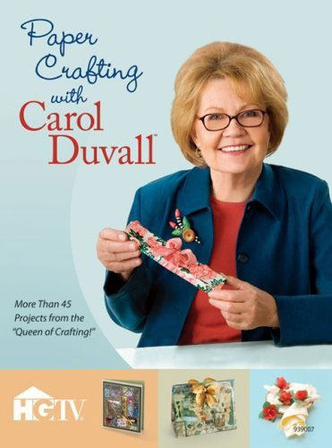 Paper Crafting with Carol Duvall book review | Book Addicts