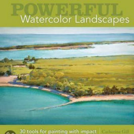 Powerful Watercolor Landscapes by Catherine Gill book review | Book Addicts