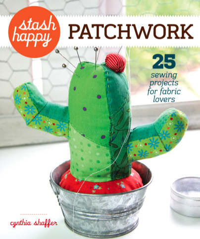 Stash Happy Patchwork by Cynthia Shaffer book review | Book Addicts