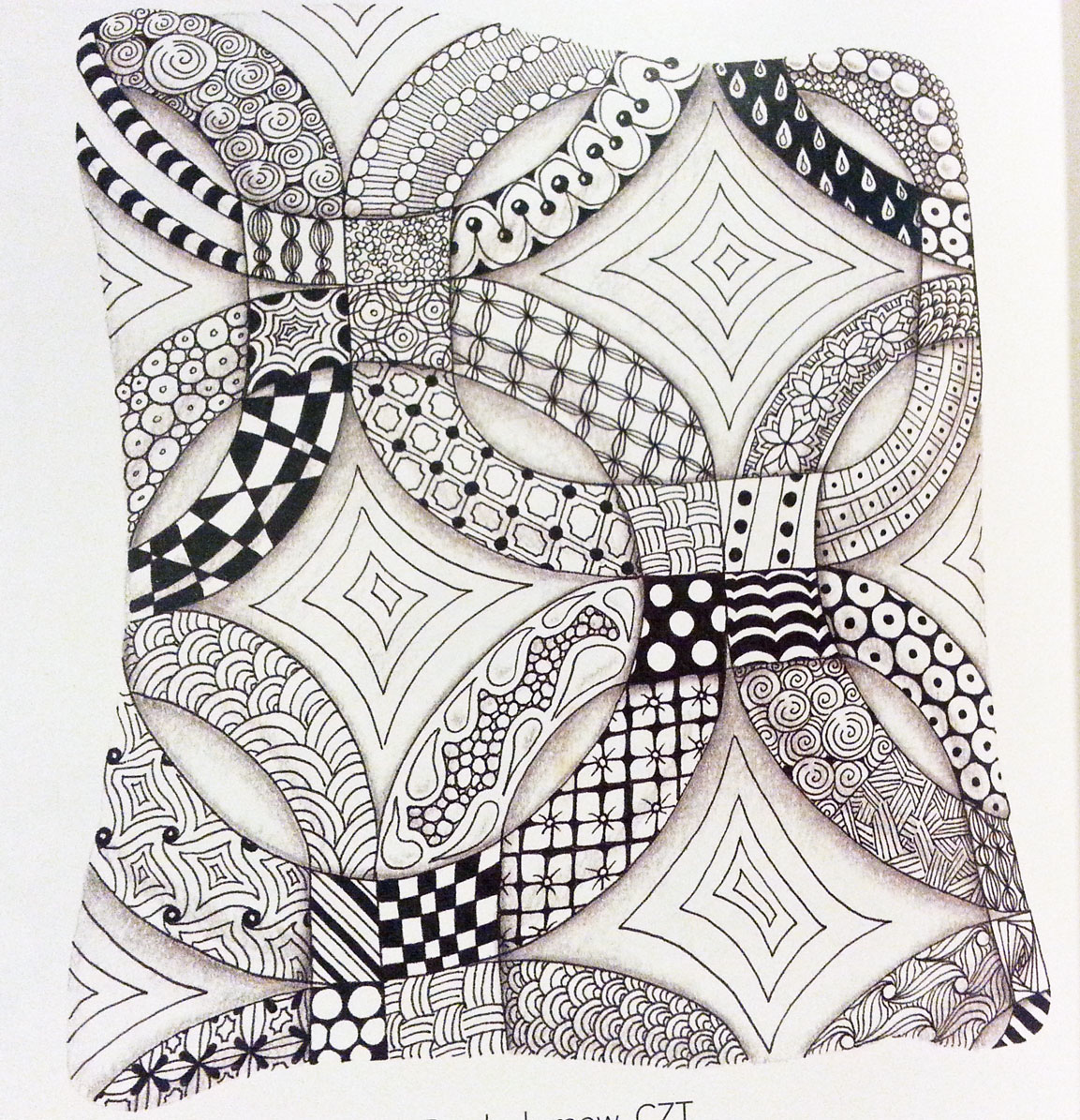 Joy of Zentangle book review | Book Addicts