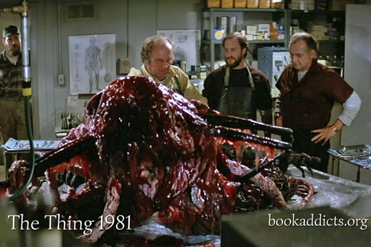 The Thing 1981 movie review | Book Addicts