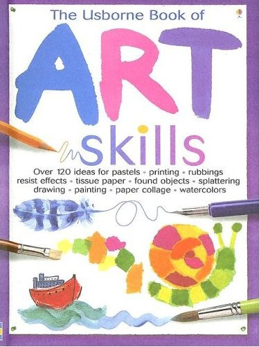 The Usborne Book of Art Skills book review | Book Addicts