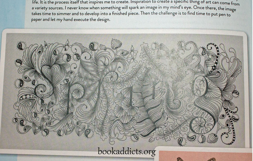 Zen Doodle Oodles of Doodles by Tonia Jenny review | Book Addicts