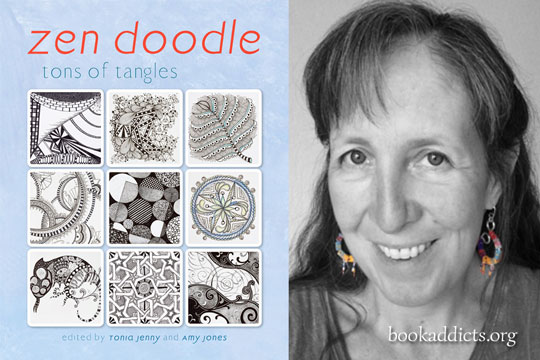 Zen Doodle Tons of Tangles by Tonia Jenny and Amy Jones
