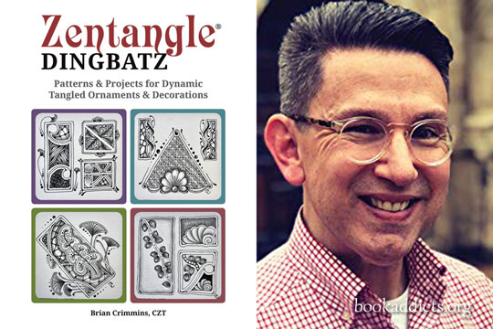 Zentangle Dingbatz by Brian Crimmins book review | Book Addicts
